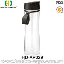 16 oz 500ml Black Plastic Water Bottles