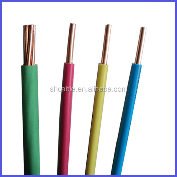 Copper Electrical Conductor : Single strand hard conductor wire electrical drawn