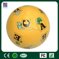 lovely promotion product, promotion item soft football PP cotton soccer ball