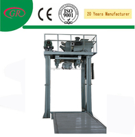 Automatic machine for packaging charcoal briquettes automatic system
