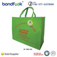 Eco friendly customized cheap non woven cloth fabric bag
