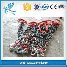 lifting chain with hook, four legs chain sling, grade 80 chains malaysia