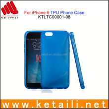 New arrival soft TPU case for iphone 6 with high quality silicone