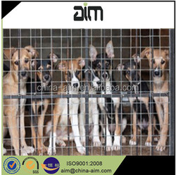 galvanized/ powder coated/ pvc coated welded wire mesh dog cage