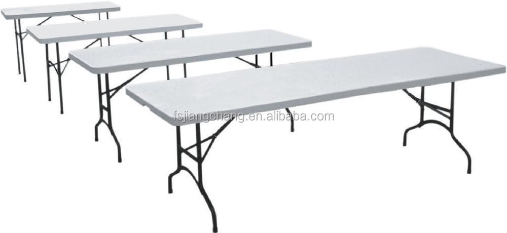 Outdoor plastic portable picnic folding table jc t28 buy - Table pvc pliante ...