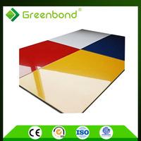 Greenbond moderate price brick wall panel fireproof acm panel