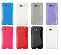 S Line Wave Gel TPU Cover Case For HTC Desire 600