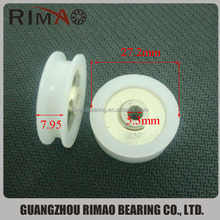 2015Hot Sale Curtain Pulley Mobile Door Roller Alkaline-Friction Bearing