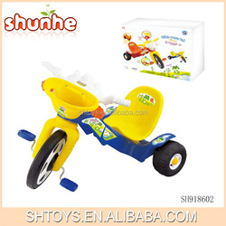 Plastic baby tricycle kids bike/tricycle with music and light