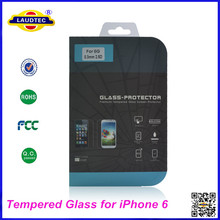 0.3mm 2.5D Genuine Tempered Glass Film Screen Protector for iPhone 6