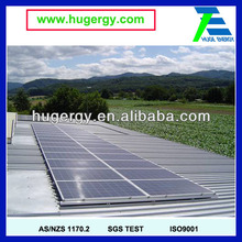 High Quality Low Price Huge 10KW Install Solar Panel on Flat Roof