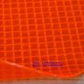 Durable 500d 0.8mm tissu polyester enduit pvc transparent pour le toit