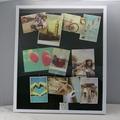 El álbum de fotos de los materiales de la foto marco de imagen- pared de la línea metálica 11 con clips de imágenes