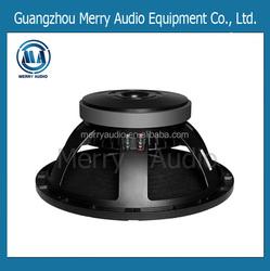 15 inch bass woofer speaker driver pro audio loudspeaker MR15220100DB