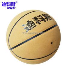 Good Quality Microfiber Miniature Basketball To Children