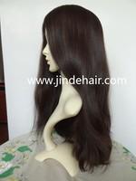 Wholesale factory price 100% virgin European Jewish Kosher human hair wig