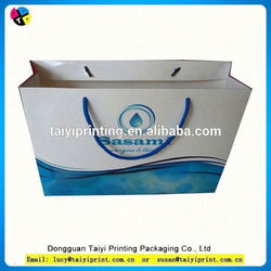recycle promotional Paper Shopping Bag Foldable