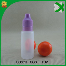 20ml e liquid bottle with child resistent cap 20ml Screen Printing Surface Handling