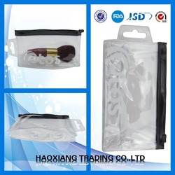 recyclable cosmetic zipper bag plastic zipper bag