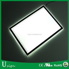 12V LED A3 size acrylic tracing light board for drawing