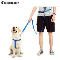 Latest Outdoor Harnds Free Dog Running Leash Nylon