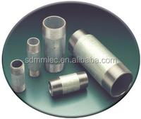 BS ASME JIS DIN standard Galvanized malleable iron pipe fittings NIPPLE