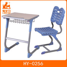 Commercial furniture high school student desk and chair