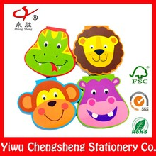 Children fanny custom animal shaped notepad