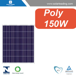 12 volt solar system used 150W Poly solar pv panels