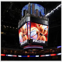 Leeman p20 Commercial Advertising of P12 video led display Basketball