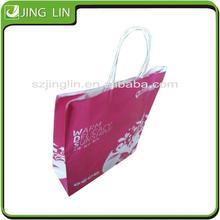 Creative kraft paper shopping bag paper craft bag with Logo Wholesale