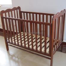 wooden mahogany modern baby cribs