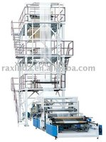 Double layer Common-extruding film blowing machine
