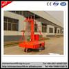 Hydraulic telescopic lift, adjustable height hydraulic ladder, high rise work platform