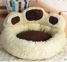 paw shaped bed for dog