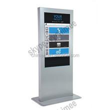 restaurant digital signage intel i3 i5 i7 cpu inside touch screen totem intel core i7