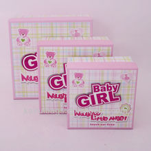 Beautiful jewelry paper gift box packing for girl kids wholesale