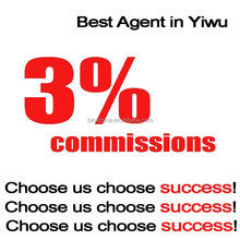 3% Commission ! Best Sourcing Agent in Yiwu China