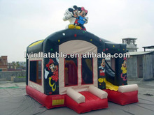 2014 Lovely Cartoon Inflatable Castle/inflatable jumping castle, inflatable bouncy castle for sale