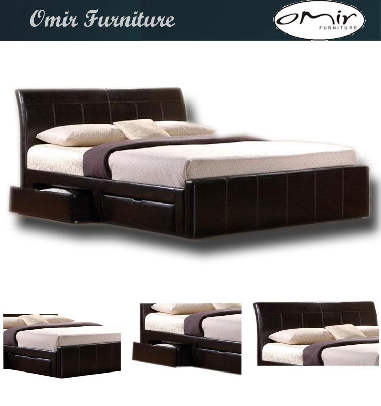 ikea estilo cama de cuero de hotel-Camas-Identificación del producto ...