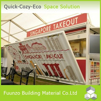 High Quality Hydraulic Used Insulated Container