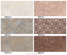 2015 latest designs with best price bathroom kitchen room 3D inkjet ceramic wall tile sizes