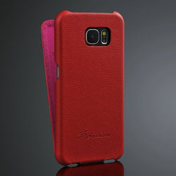 Genuine Leather Case for samsung galaxy S6, newest arrival Flip case for samsung galaxy S6