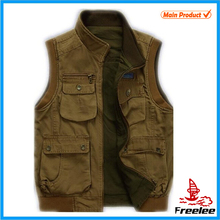 2015 Reversible Custom Fishing Vest, Shooting Hunting Vest for Men