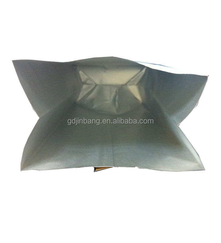 aluminum foil laminated kraft brown paper tea bag