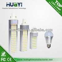 g24 pl 13w led lamp CE&Rohs, FCC listed with 3 years warranty