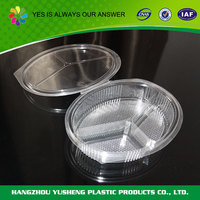 Accept custom order plastic cake tray with lid