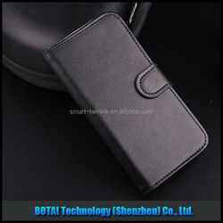 Genuine leather flip best brands mobile phone leather case