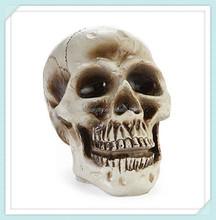 Resin decor halloween skull wholesale