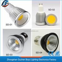 MR16 GU10 GU5.3 E27 E14 spotlight housing 3w 5w 7w 9w logo spotlight 50000 hours life led spotlight